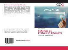 Bookcover of Sistemas de Evaluación Educativa