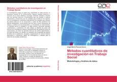 Portada del libro de Métodos cuantitativos de investigación en Trabajo Social