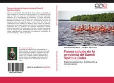 Обложка Fauna salvaje de la provincia de Sancti Spíritus,Cuba