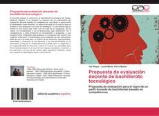 Bookcover of Propuesta de evaluación docente de bachillerato tecnológico