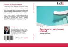 Educación en salud sexual integral的封面