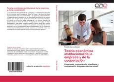 Buchcover von Teoría económica institucional de la empresa y de la cooperación