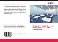 Portada del libro de Evaluación docente: caso de estudio en la UTM