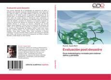 Buchcover von Evaluación post desastre