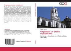 Buchcover von Organizar un orden republicano