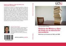 Bookcover of Historia de México y libro de texto en la educación secundaria