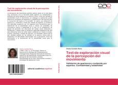Bookcover of Test de exploración visual de la percepción del movimiento