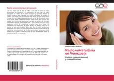 Portada del libro de Radio universitaria   en Venezuela