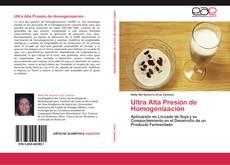 Buchcover von Ultra Alta Presión de Homogenización