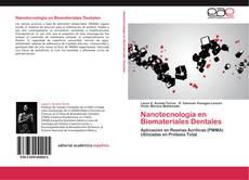 Nanotecnología en Biomateriales Dentales kitap kapağı