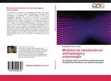Portada del libro de Modelos de simulación en antropología y arqueología