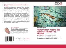 Capa do livro de Alimentación natural del camarón rosado: un Review