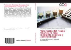 Capa do livro de Valoración del riesgo financiero mea mediante cópulas y control difuso