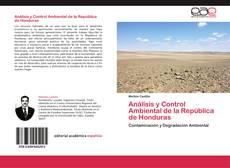 Portada del libro de Análisis y Control Ambiental de la República de Honduras