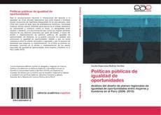 Borítókép a  Políticas públicas de igualdad de oportunidades - hoz