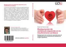 Portada del libro de Restauración de ventrículo izquierdo en la insuficiencia cardiaca