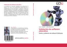 Buchcover von Validación de software educativo