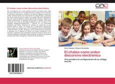 Capa do livro de El chateo como orden discursivo electrónico