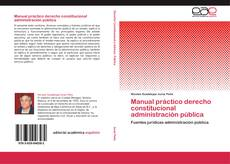 Capa do livro de Manual práctico derecho constitucional administración pública