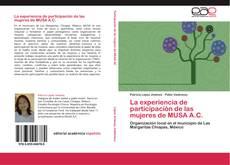 Bookcover of La experiencia de participación de las mujeres de MUSA A.C.
