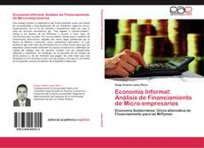 Portada del libro de Economía Informal: Análisis de Financiamiento de Micro-empresarios