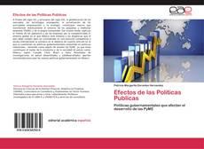 Efectos de las Políticas Publicas kitap kapağı