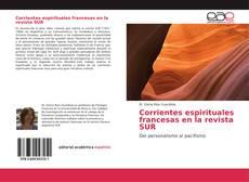 Capa do livro de Corrientes espirituales francesas en la revista SUR