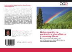 Portada del libro de Determinación de parámetros atmosféricos y oceanográficos