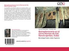 Portada del libro de Quiropterocoría en el cerro Hornos de Cal, Sancti spíritus, Cuba