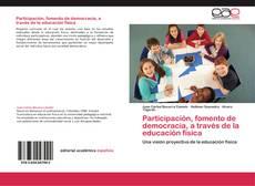Portada del libro de Participación, fomento de democracia, a través de la educación física