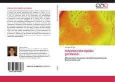 Обложка Interacción lípido-proteína: