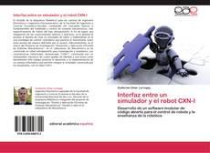 Portada del libro de Interfaz entre un simulador y el robot CXN-I