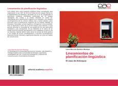 Bookcover of Lineamientos de planificación lingüística