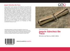 Portada del libro de Joquín Sánchez De Toca