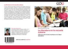 Capa do livro de La literatura en la escuela cubana