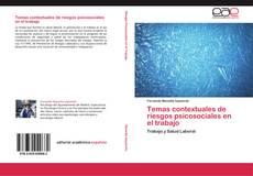 Capa do livro de Temas contextuales de riesgos psicosociales en el trabajo