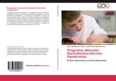 Обложка Programa: Atención Socioafectiva del niño hipoacúsico