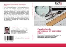 Capa do livro de Estrategias de aprendizaje en geometría plana