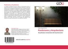 Portada del libro de Positivismo y Arquitectura
