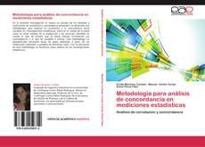 Capa do livro de Metodología para análisis de concordancia en mediciones estadísticas