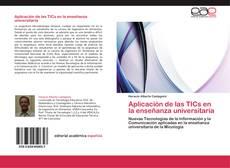 Portada del libro de Aplicación de las TICs en la enseñanza universitaria