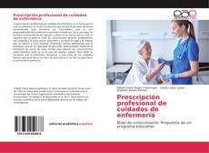 Portada del libro de Prescripción profesional de cuidados de enfermería