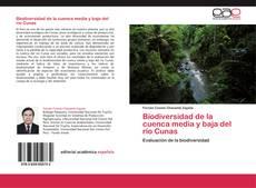 Bookcover of Biodiversidad de la cuenca media y baja del río Cunas