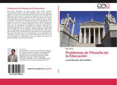 Capa do livro de Problemas de Filosofía de la Educación