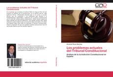 Capa do livro de Los problemas actuales del Tribunal Constitucional