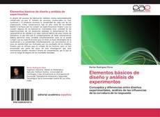 Обложка Elementos básicos de diseño y análisis de experimentos