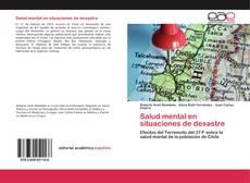 Portada del libro de Salud mental en situaciones de desastre
