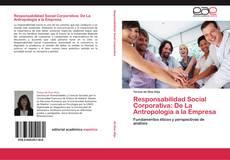Borítókép a  Responsabilidad Social Corporativa: De La Antropología a la Empresa - hoz