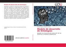 Capa do livro de Modelo de desarrollo de Ontologías