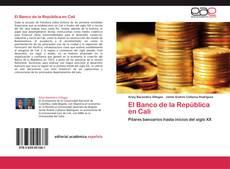 Portada del libro de El Banco de la República en Cali